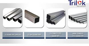 Stainless Steel Square Pipe Suppliers Jindal Ss 304 316