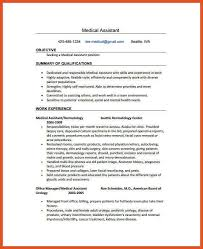 Medical Assistant Resume Objectives 100100 Medical Assistant Resume Objective Titleletter 49