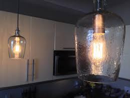 edison bulb pendant lighting.  Bulb A Simple But Elegant Glass Pendant With An Edison Bulb Gives The Kitchen A  New Vibe On Bulb Pendant Lighting U