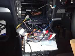 how to or at least how i change a stereo in a vw golf mk6 everything all slotted in but fascia not on