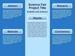 Lime Green Simple Science Fair Poster Display Board Template For