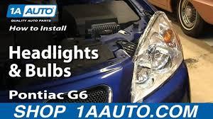 Pontiac G6 Light Bulb How To Replace Headlights And Bulbs 05 10 Pontiac G6 Sedan