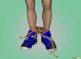 Resultado de imagen para pies con cabuyas atadas