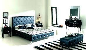 Queen Black Bedroom Sets Furniture The Home Depot Set 4 Piece Dimora