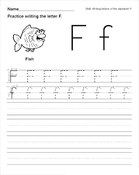 Practice Writing Letters Sheets Co Practice Writing Letters Worksheet For Kindergarten Name