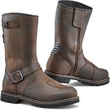 TCX Men's Motorcycle Boots (Vintage Brown, 43 EU ... - Amazon.com