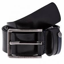 ted baker keepsak black casual leather belt