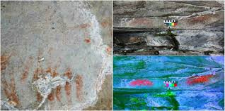 prehistoric cave paintings discovered at the high altitude site in france 2 133 metres 6 890 ft above sea level