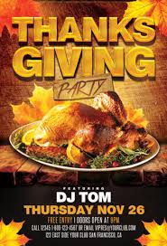 thanksgiving party flyer thanksgiving flyers download flyer templates for party and events