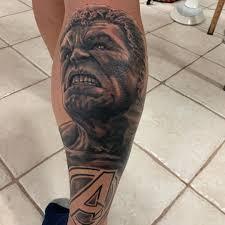Boof Tattooer Hulk Avengers Marvel Nofilter At Lost City Tattoo