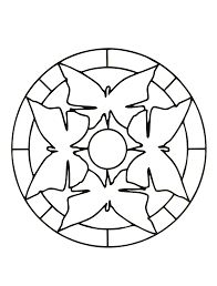 Easy Mandala Coloring Pages Easy Mandala Coloring Pages Easy