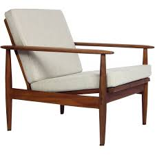 vintage danish mid century modern armchair 1960s