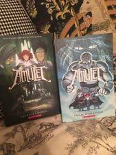 two new amulet books escape from lucien the last council