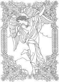 Angel Coloring Pages For Adults Elegant Inspirational Regarding 16