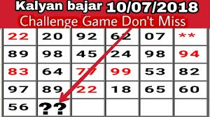 Mumbai Game Chart You Will Love Badshah Chart Lifetime Follow Chart For Matka