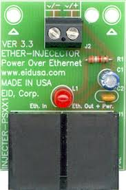 electronic kits poe power over ethernet injector by using power over ethernet power injector all the installers need is to run a single cat5 or cat5e ethernet cable that carries both power and data to