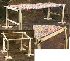 Floor-Standing Quilt Frame - tutorial -- not sure I will ever hand ... & American Legacy Quilt Frame Adamdwight.com