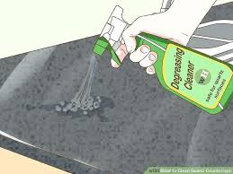 how to clean quartz countertop image titled clean quartz step 2 clean white quartz countertops