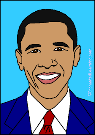 Small Picture President Barack Obama EnchantedLearningcom