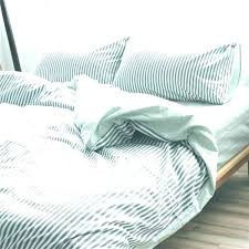 white double duvet set blue and white striped duvet cover ticking stripe bedding striped bedding grey