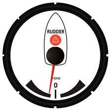 vdo rudder indicator wiring diagram wiring diagram vdo viewline rudder angle indicator kit white 85mm