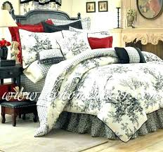 toile bedding is good french toile comforter is good red toile bedding sets is good toile