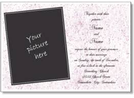 Printable Wedding Invitations Free Online Wedding Invitation