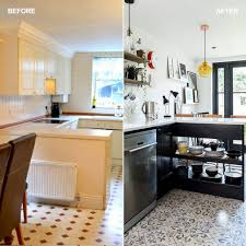 decorating ideas for kitchen. before and after: see how a narrow kitchen was transformed without an extension decorating ideas for