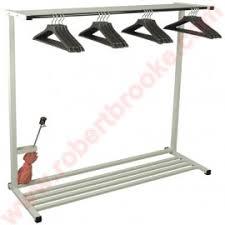 48 Coat Rack Emco 100100 Portable Rack System This 1008 floor rack includes 100 open 55