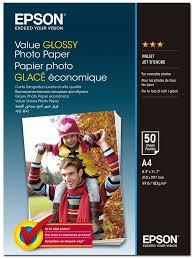 <b>Epson</b> C13S400036 <b>Value Glossy фотобумага</b> A4, 50 листов ...