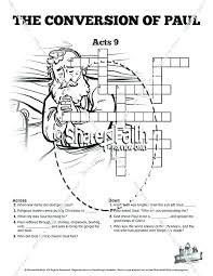Apostle Paul Coloring Page On The Road To Coloring Page Acts 9