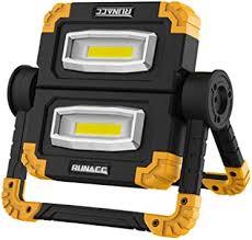 Runacc Foldable <b>LED</b> Work Light, Construction Spotlight, Portable ...