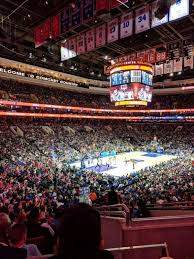 Wells Fargo Center Section 109 Row 26 Home Of