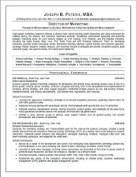 Digital Marketing Resume Sample Resume Marketing Director Director ...