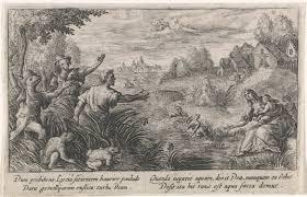 Latona En De Lycische Boeren Metamorfosen Van Ovidius Passe