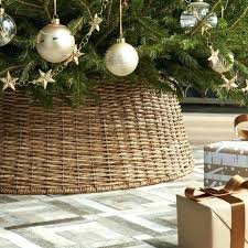 galvanized crate and barrel christmas tree skirt7