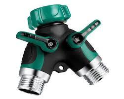 garden hose splitter. Y Valve Metal Body Garden Hose Splitter