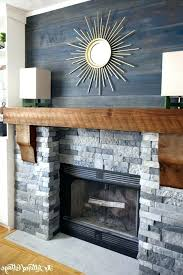 reclaimed wood fireplace mantel fooller