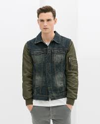 zara denim jacket with detachable sleeves