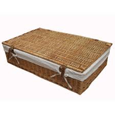 ... Buy Wicker Underbed Storage Baskets Online From The Basket Company With  Regard To Under Bed Basket ...