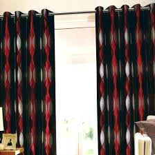 red bedroom curtain black and red curtains for bedroom red black curtains black red and cream