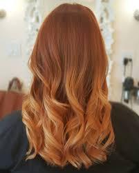 Copper Blonde Ombre Balayage La Beautique