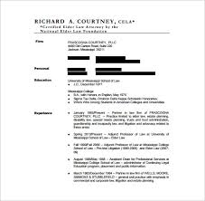 Lawyer Resume Spectacular Legal Resume Format Resume Writing Guide