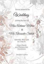Sample Of Weeding Invitation Wedding Invitation Templates Free Greetings Island