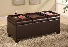 coaster storage ottoman coffee table