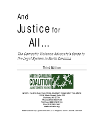 Domestic Violence Advocate S Guide To The Legal System In North