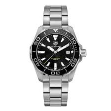 tag heuer mens watches beaverbrooks the jewellers tag heuer aquaracer men s watch