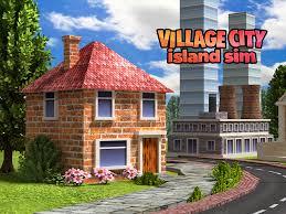 village city island sim farm build virtual life android apps