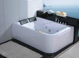 ... Bathtubs Idea, Two Person Jacuzzi Bathtub 2 Person Whirlpool Tub With  Heater Creation Soaking Bathtubs ...