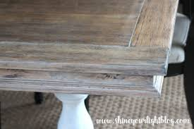 How To Lime A Dining Table Shine Your Light